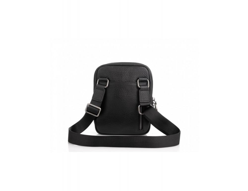 Маленькая чёрная сумка через плечо Tavinchi S-001A - Фото № 3
