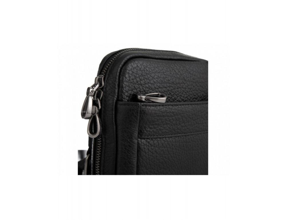 Маленькая чёрная сумка через плечо Tavinchi S-001A - Фото № 4