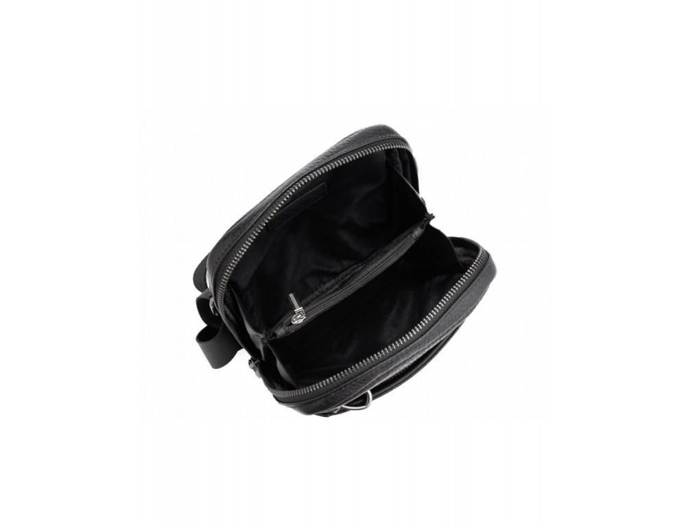 Маленькая чёрная сумка через плечо Tavinchi S-001A - Фото № 5