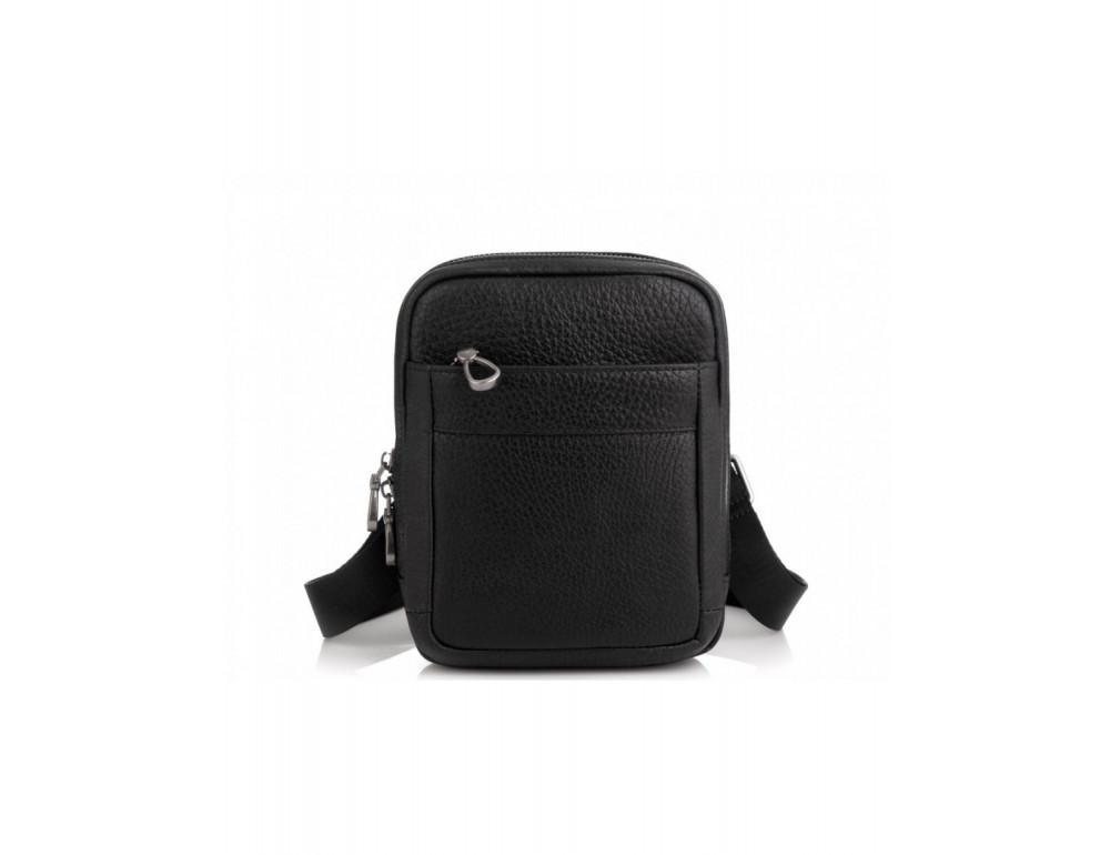 Маленькая чёрная сумка через плечо Tavinchi S-001A - Фото № 6