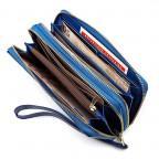 Синий женский кошелёк из лаковой кожи ST Leather S5001B - Фото № 103