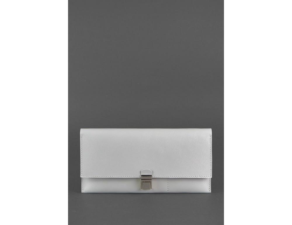 Серый кожаный органайзер под документы Blanknote BN-TK-2-SHADOW - Фото № 1