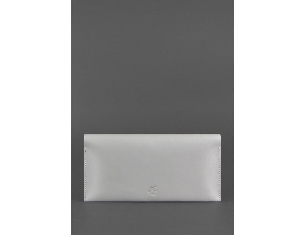 Серый кожаный органайзер под документы Blanknote BN-TK-2-SHADOW - Фото № 4