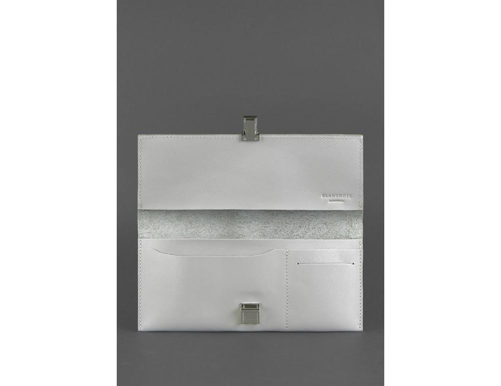 Серый кожаный органайзер под документы Blanknote BN-TK-2-SHADOW - Фото № 3