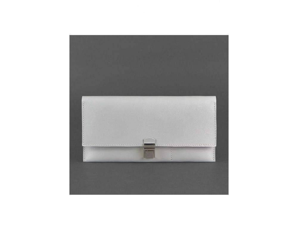 Серый кожаный органайзер под документы Blanknote BN-TK-2-SHADOW - Фото № 5