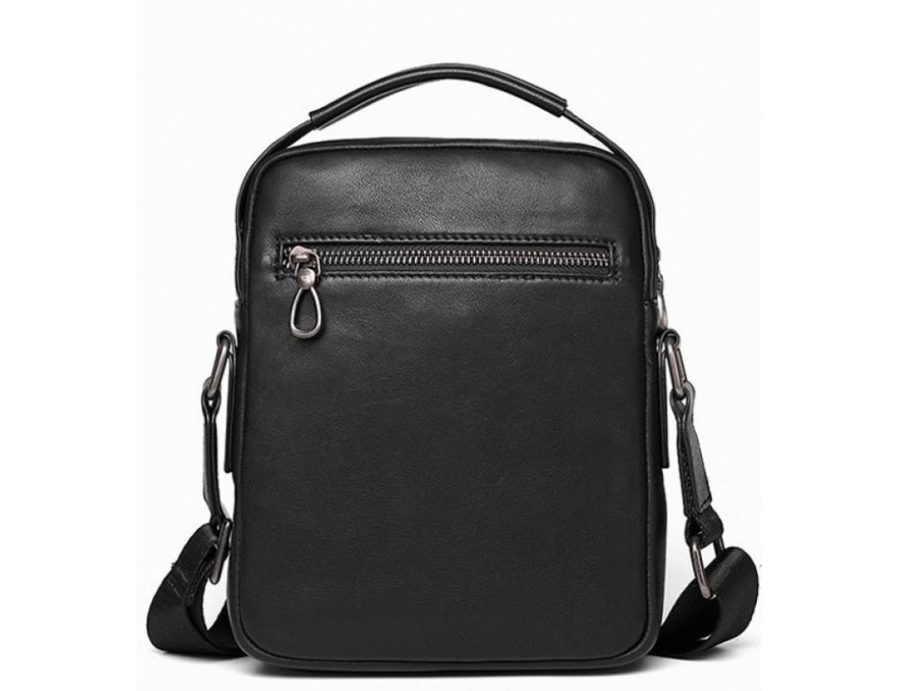 Чёрная мужская сумка-мессенджер Tiding Bag SM8-006A - Фото № 2