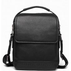 Чёрная мужская сумка-мессенджер Tiding Bag SM8-006A