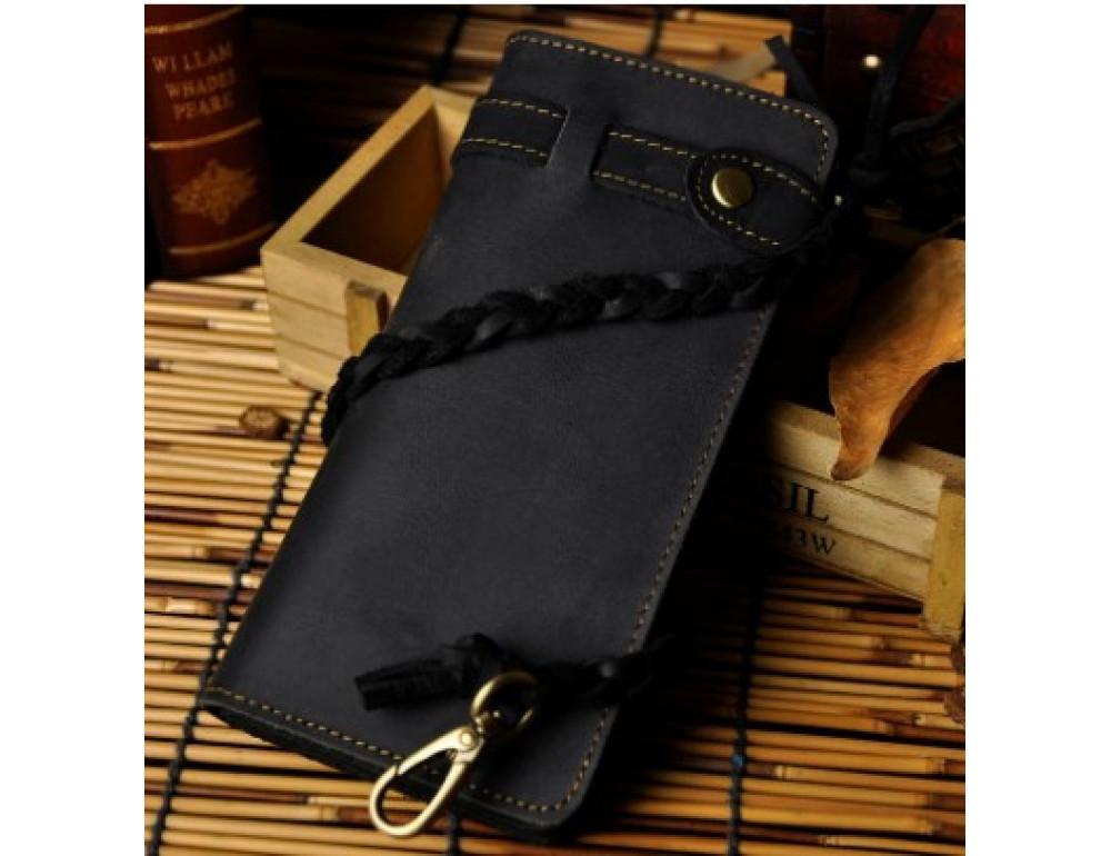 Чоловічий гаманець Tiding Bag 8031A Чорний