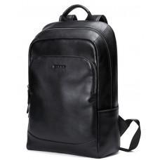 Чоловічий шкіряний рюкзак Hautton SZB006A чорний