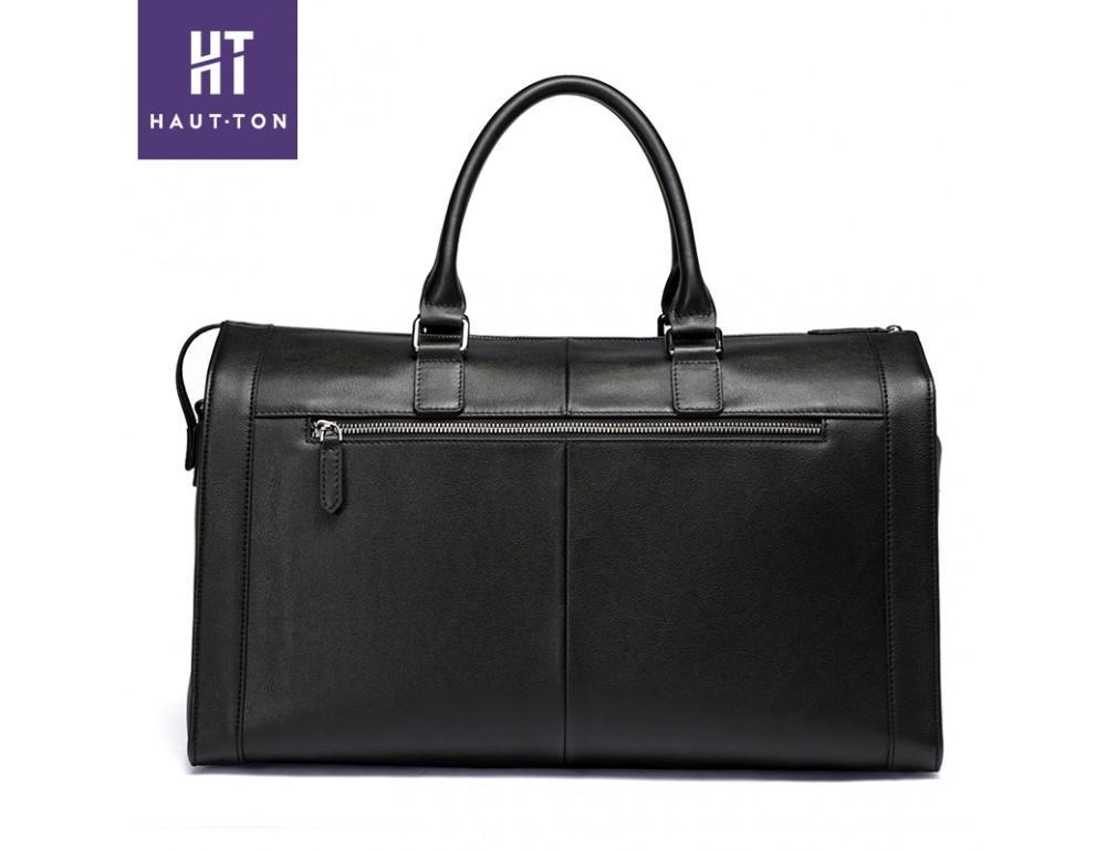 Молодёжная дорожная сумка Hautton TB9174A чёрная - Фото № 2