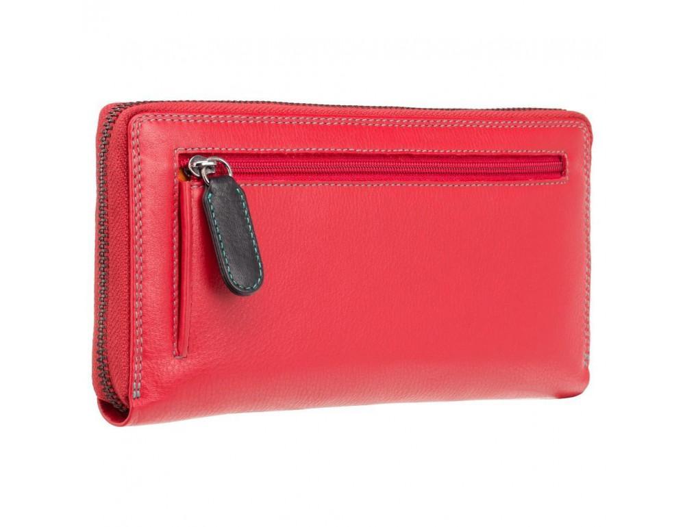 Женский кожаный портмоне Visconti SP33 RED M красный - Фото № 6