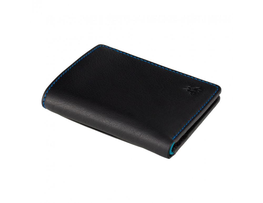Чёрный мужской кошелёк Visconti SP60 BLK M Alder - Фото № 3