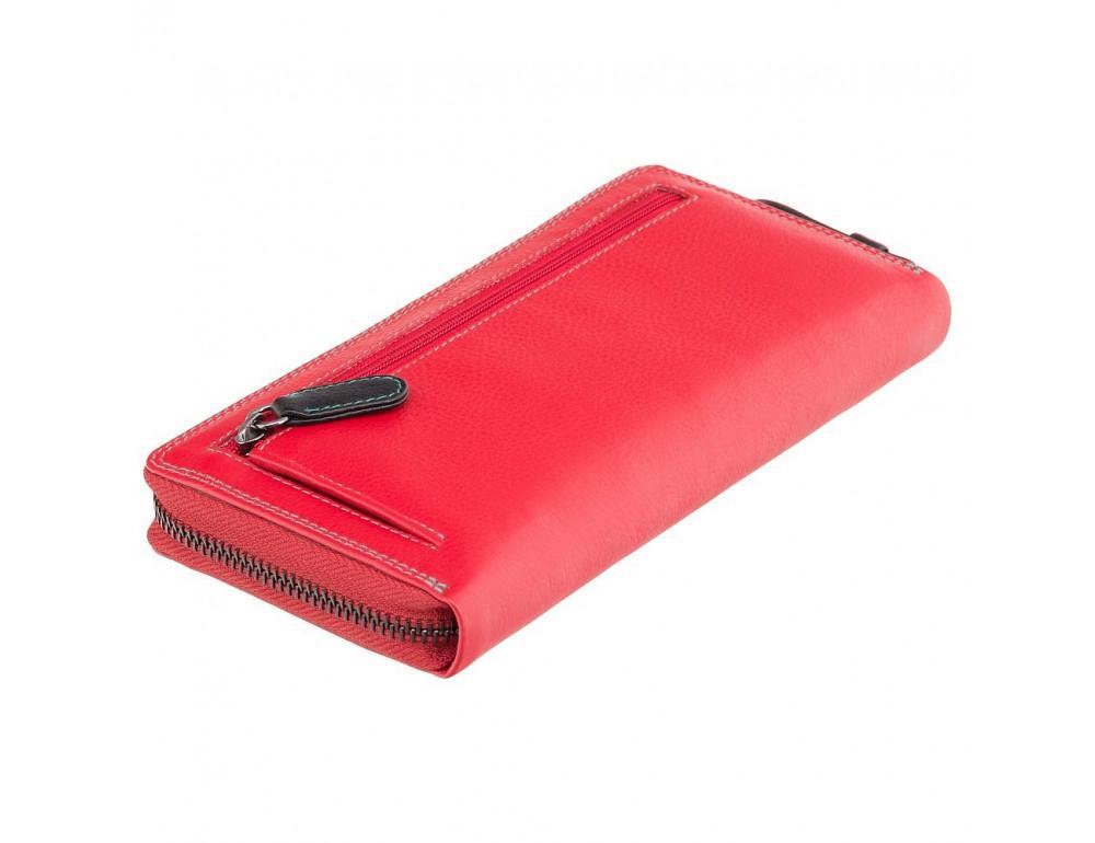 Стильный женский кошелёк красного цвета Visconti SP79 RED M Violet c RFID - Фото № 3