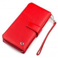 Красный кожаный кошелек ST Leather ST228R