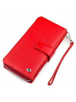 Червоний шкіряний гаманець ST Leather ST228R