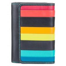 Чёрный кошелек женский Visconti STR3 BLK M Halki c RFID