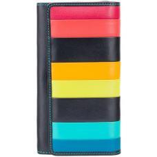 Чёрный женский кошелёк Visconti STR4 BLK M Kos c RFID