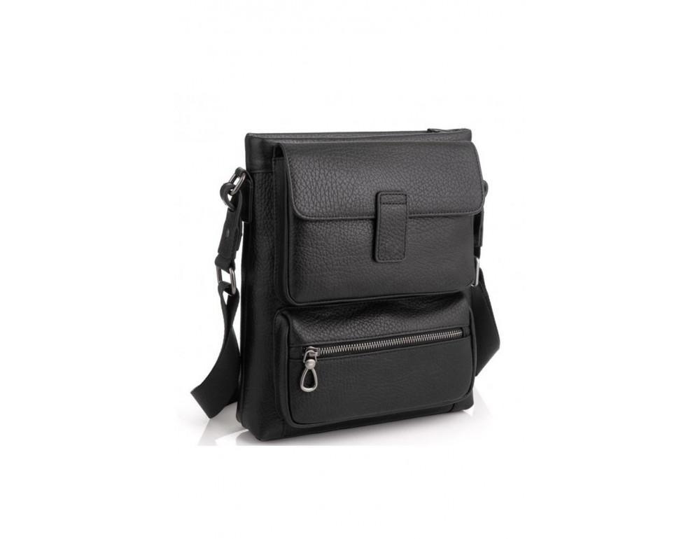 Чёрная сумка мессенджер Tavinchi S-009A - Фото № 1