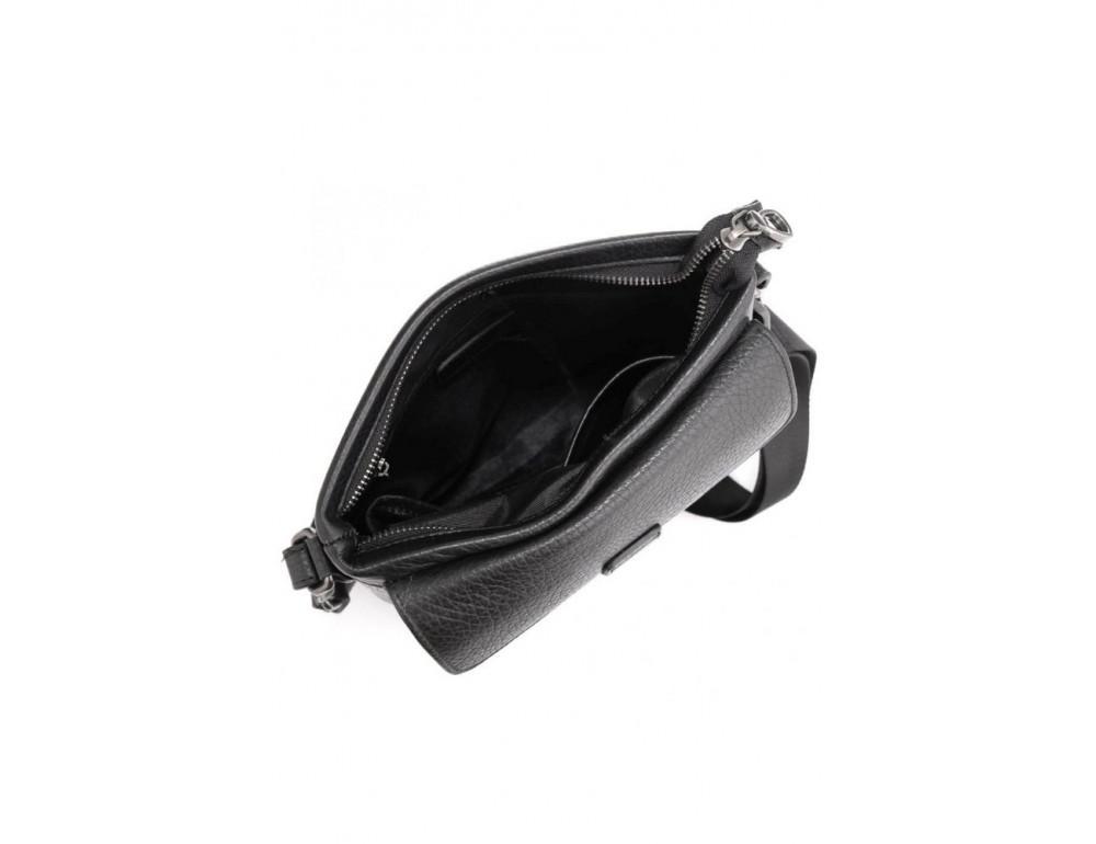 Чёрная сумка мессенджер Tavinchi S-009A - Фото № 3