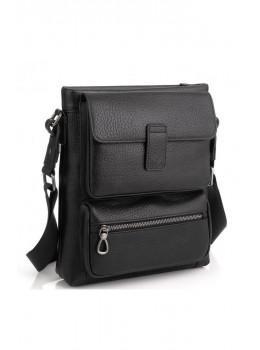Чорна сумка месенджер Tavinchi S-009A