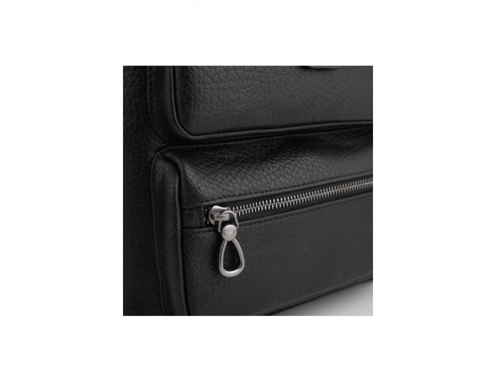 Чёрная сумка мессенджер Tavinchi S-009A - Фото № 4