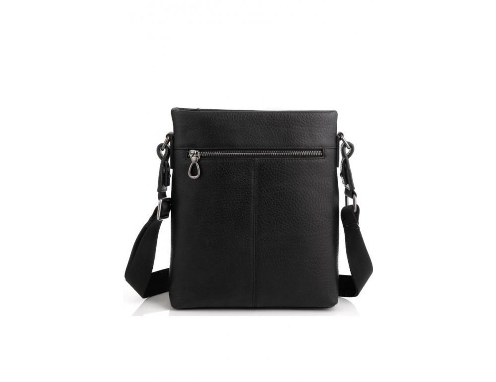Чёрная сумка мессенджер Tavinchi S-009A - Фото № 6