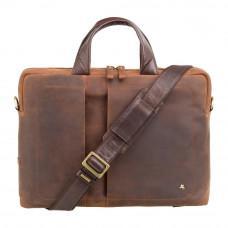 Коричневая винтажная сумка под MacBook Visconti TC76 TAN Octo 13
