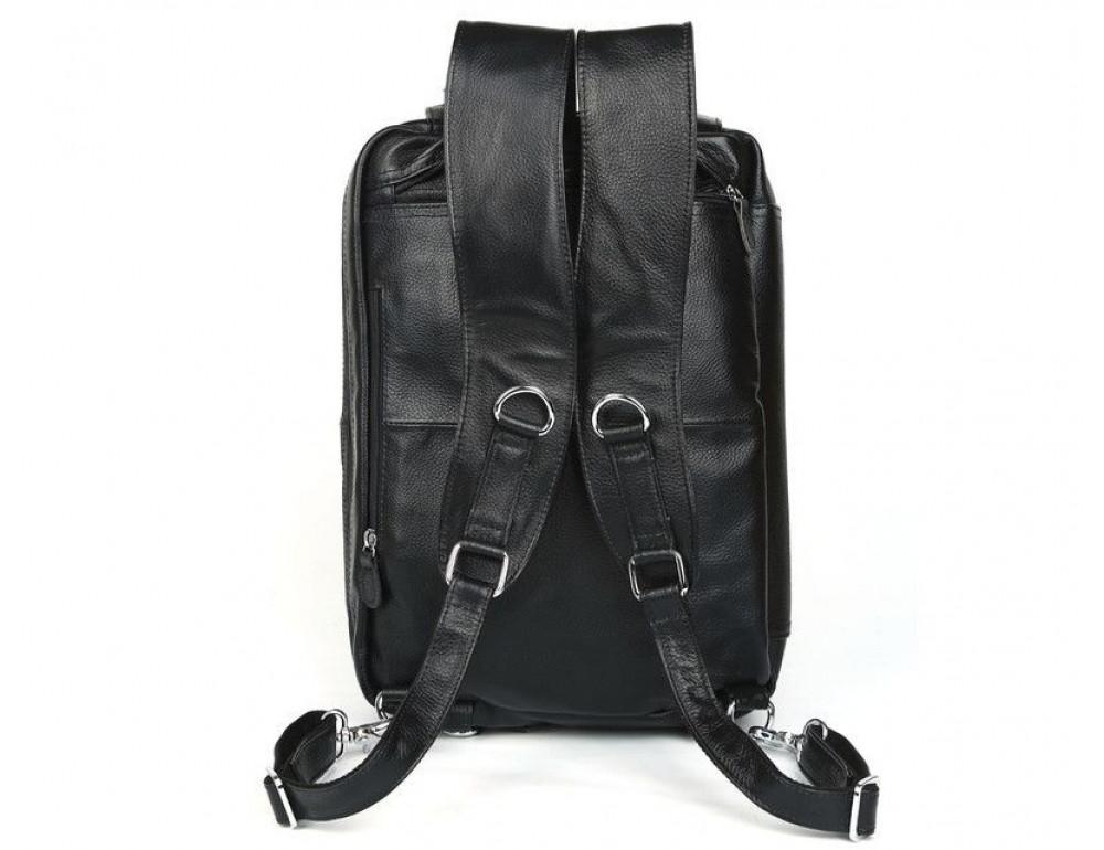 Кожаная сумка-рюкзак TIDING BAG T3013 - Фотографія № 3