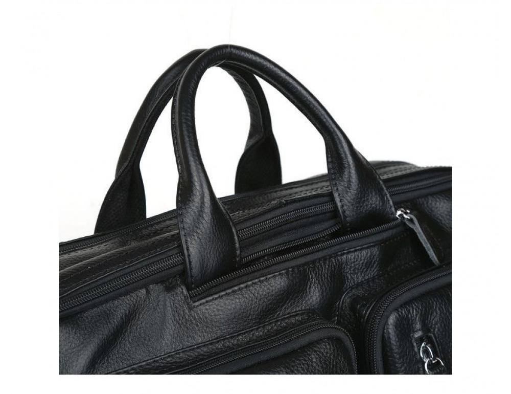 Кожаная сумка-рюкзак TIDING BAG T3013 - Фотографія № 4