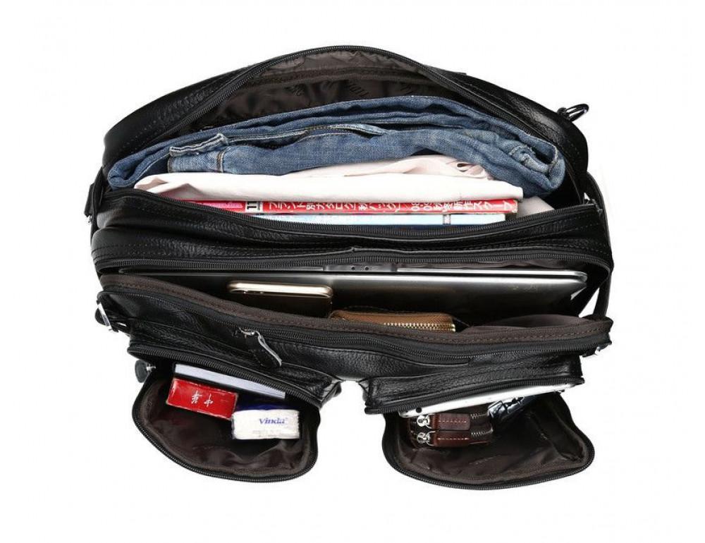 Кожаная сумка-рюкзак TIDING BAG T3013 - Фотографія № 5