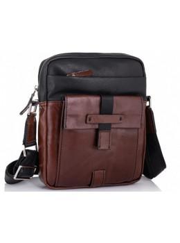Стильная кожаная сумка мессенджер Tiding Bag t0037