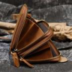 Винтажный клатч TIDING BAG T4009R коричневый - Фото № 102