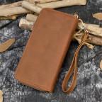 Винтажный клатч TIDING BAG T4009R коричневый - Фото № 105