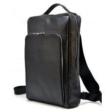 Чёрный классический мужской рюкзак TARWA TA-1240-4lx