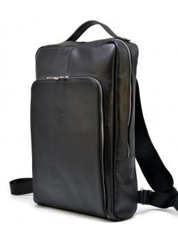 Чорний класичний чоловічий рюкзак TARWA TA-1240-4lx