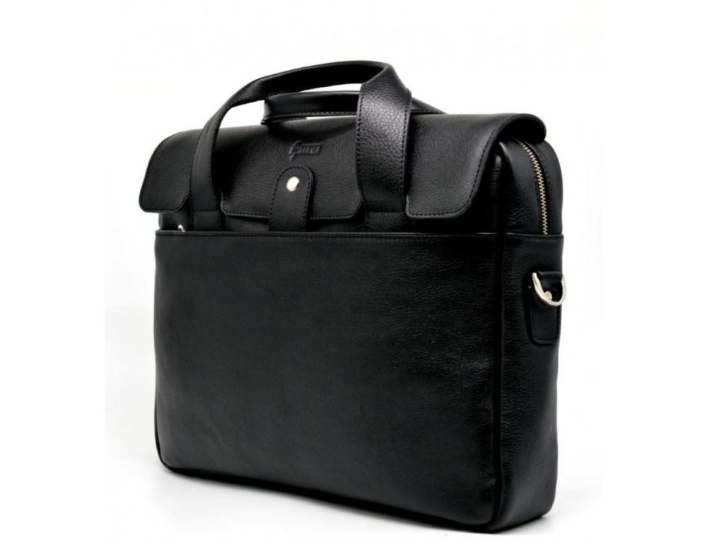 Стильна шкіряна сумка-портфель TARWA TA-1812-4lx - Фотографія № 3