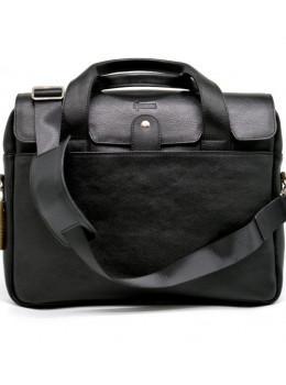 Стильна шкіряна сумка-портфель TARWA TA-1812-4lx