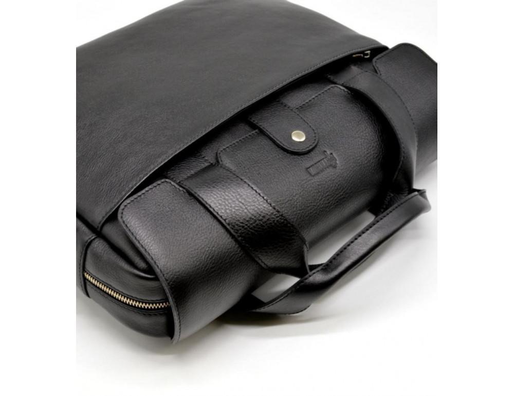 Стильна шкіряна сумка-портфель TARWA TA-1812-4lx - Фотографія № 5