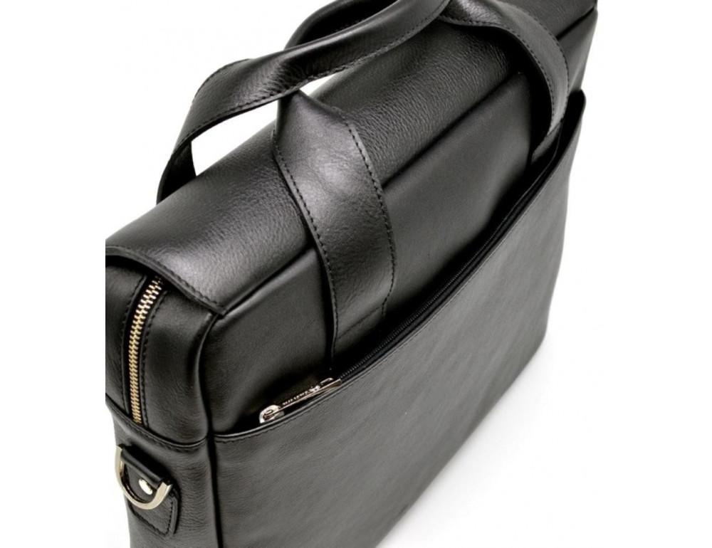 Стильна шкіряна сумка-портфель TARWA TA-1812-4lx - Фотографія № 6