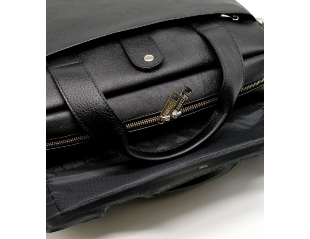 Стильна шкіряна сумка-портфель TARWA TA-1812-4lx - Фотографія № 7