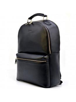 Чорний шкіряний рюкзак TARWA TA-4445-4lx