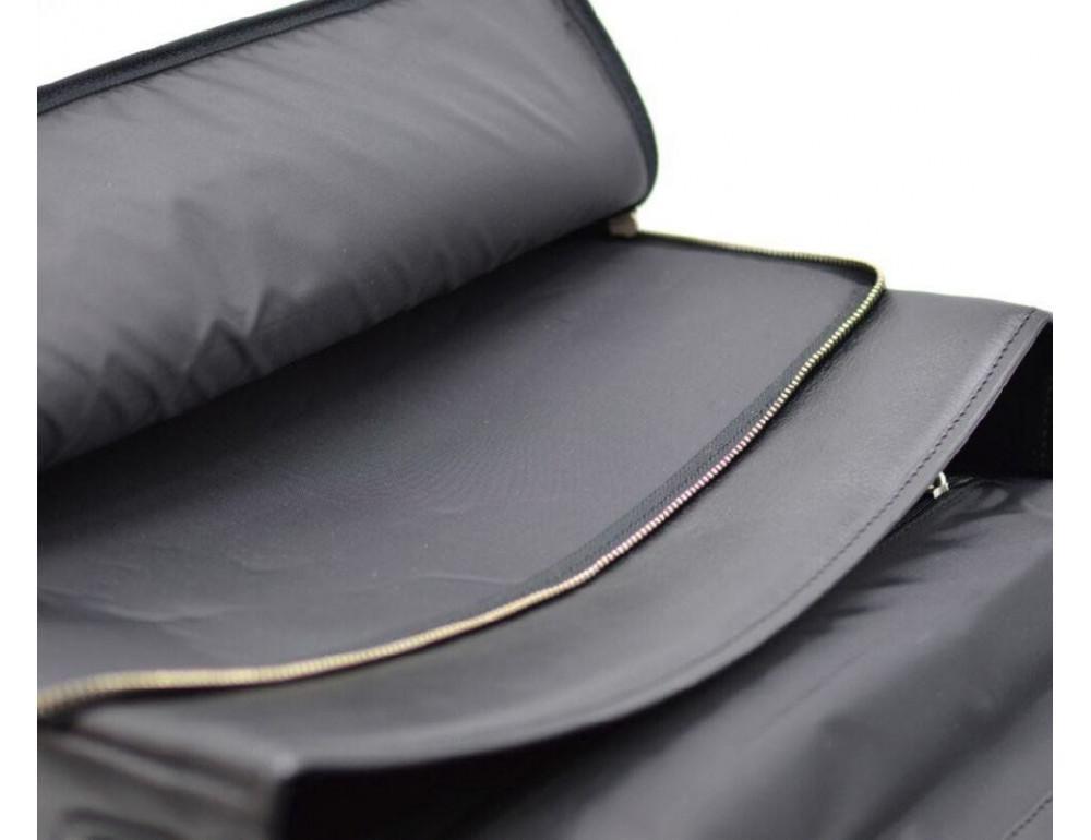 Чорний чоловічий портфель з гладкої шкіри TARWA TA-4464-4lx - Фотографія № 6