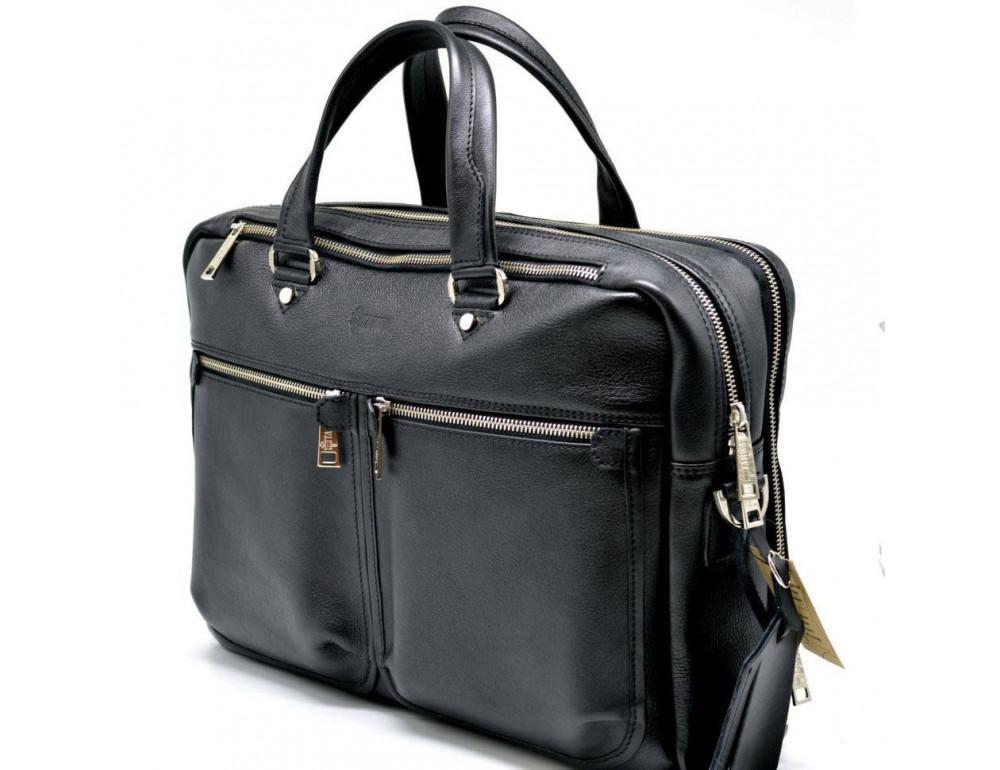 Мужской портфель с двумя отделениями TARWA TA-4664-4lx - Фото № 8