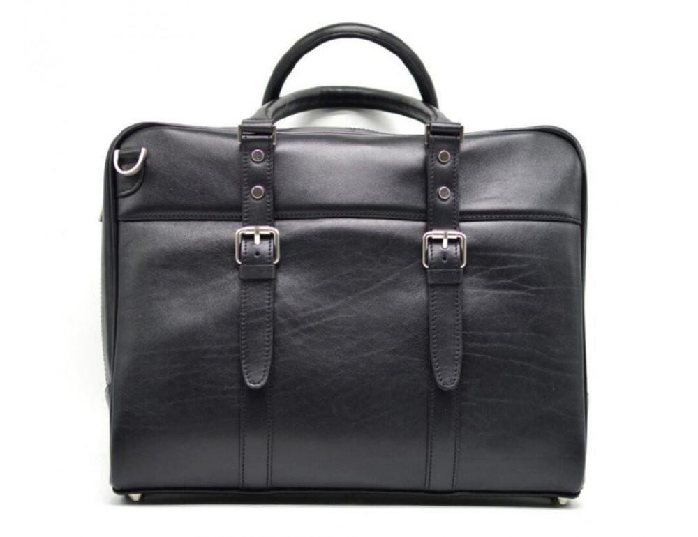 Чёрная деловая мужская сумка TARWA TA-4764-4lx - Фото № 3