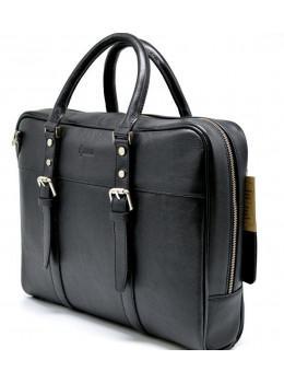 Чорна ділова чоловіча сумка TARWA TA-4764-4lx