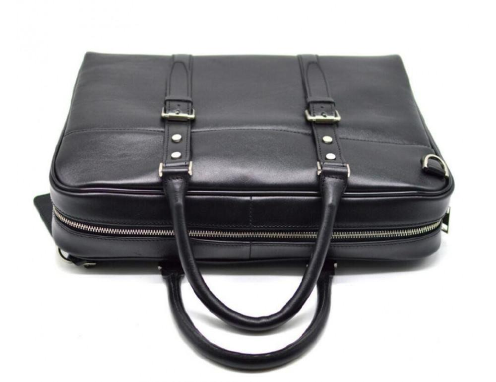 Чёрная деловая мужская сумка TARWA TA-4764-4lx - Фото № 4