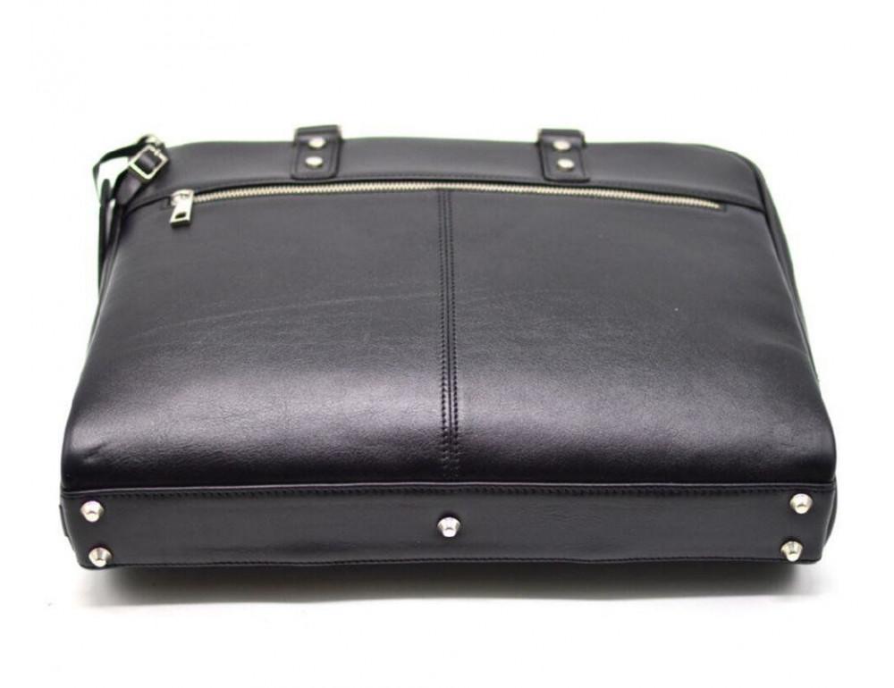 Чёрная деловая мужская сумка TARWA TA-4764-4lx - Фото № 5