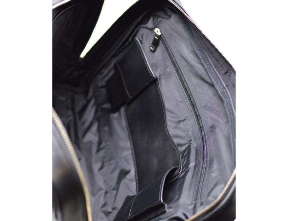 Чёрная деловая мужская сумка TARWA TA-4764-4lx - Фото № 6