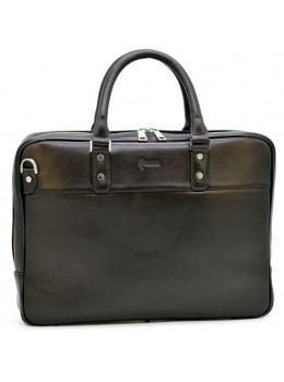 Чоловік шкіряний портфель TARWA TA-4766-4lx чорний