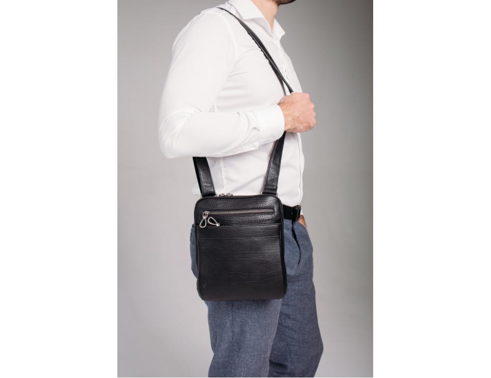 Мужская кожаная сумка Tavinchi S-008A - Фото № 2